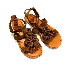 American Eagle Oufitters brown sandals 8